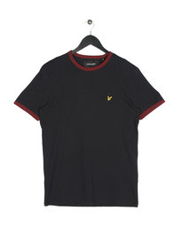 Lyle & Scott Ringer Short Sleeve T-Shirt 572 Black