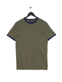 Lyle & Scott Ringer Short Sleeve T-Shirt A01 Olive