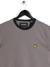 Lyle & Scott Ringer T-Shirt Grey