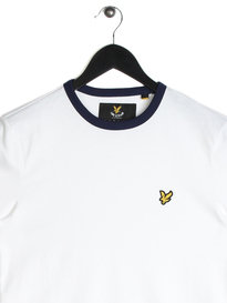 Lyle & Scott Ringer T-Shirt White