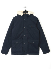 LYLE & SCOTT SHEARLING LINED PARKA NAVY