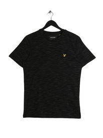 Lyle & Scott Space Dye T-Shirt Black