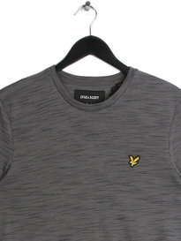 Lyle & Scott Space Dye T-Shirt Grey