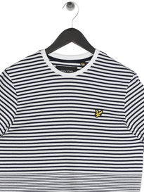 Lyle & Scott Stripe T-shirt Navy