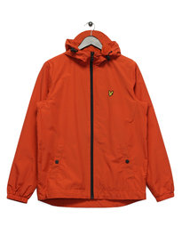 Lyle & Scott Through Hooded Jacket Red