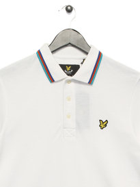 Lyle & Scott Tipped Polo Shirt White