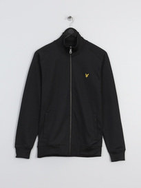 LYLE & SCOTT TRICOT JACKET BLACK