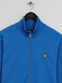 LYLE & SCOTT TRICOT JACKET BLUE