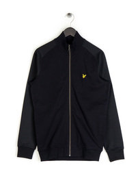 Lyle & Scott Tricot Track Top Black