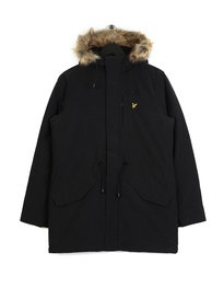 Lyle & Scott Winter Microfleece Parka Black