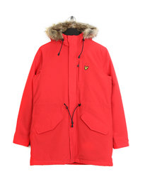 Lyle & Scott Winter Microfleece Parka Z353 Red