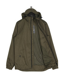 Lyle & Scott Zip Through Hooded Jacket A04 Green