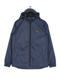 Lyle & Scott Zip Through Hooded Jacket A12 Blue