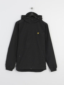 LYLE & SCOTT ZIP THROUGH HOODED JACKET BLACK