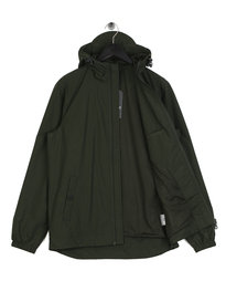 Lyle & Scott Zip Through Hooded Jacket Green