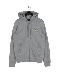 Lyle & Scott Zip Through Hoodie T28 Grey