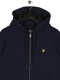 Lyle & Scott Zip Through Hoodie Z99 Navy