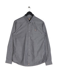 Pretty Green Sterling Oxford Shirt Black