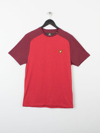 SADDLE SHOULDER T-SHIRT 477 RED