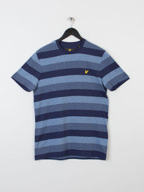 WINTER STRIPE T-SHIRT Z99 NAVY