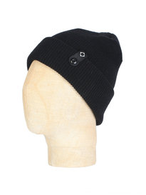 Ma.Strum Detachable ID Beanie Black