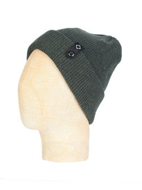 Ma.Strum Detachable ID Beanie Green