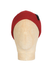 Ma.Strum Detachable ID Beanie Red