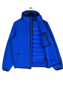 Ma.Strum Grayling Hooded Bomber Blue