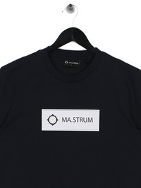 MA.Strum Icon Box Logo T-Shirt M403 Dark Navy