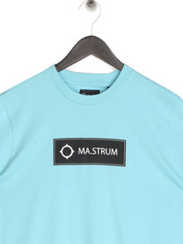 MA.Strum Icon Box Logo T-Shirt M419 Turquoise