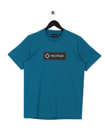 MA.Strum Icon Box Logo T-Shirt M424 Turquoise