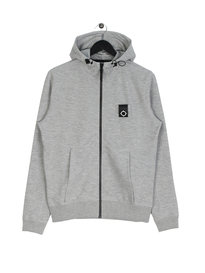 MA.Strum Lamprey Zip Up Hooded Sweat Grey
