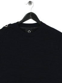 Ma.Strum Merino Crew Neck True Navy