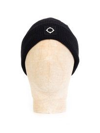 MA.Strum Merino Icon Watch Beanie Black