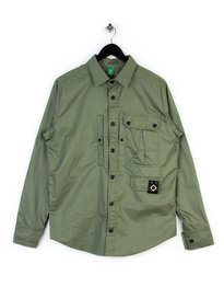 MA.STRUM MULTI POCKET SHIRT GREEN
