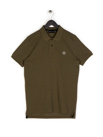 Ma.Strum Pique Icon Polo Khaki