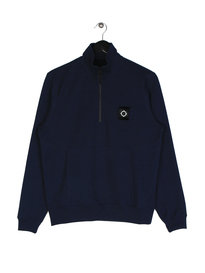 Ma.Strum Scamp Half Zip Sweat Navy