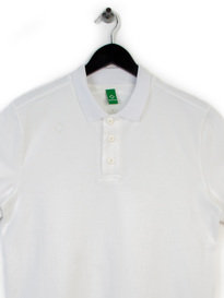 MA.STRUM SHORT SLEEVE PIQUE POLO WHITE