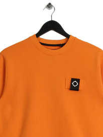 MA.Strum Training Crew M810 Sweat Orange