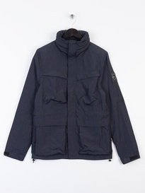 Marshall Artist Garment Dyed Field Jacket Navy