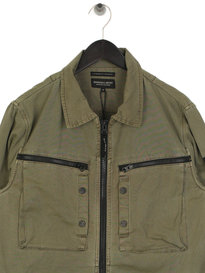 Marshall Artist Garment Dyed Overshirt Green