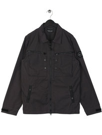 Marshall Artist Garment Dyed Overshirt Grey