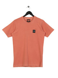 Marshall Artist Garment Dyed T-Shirt Orange