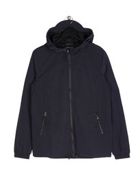 Marshall Artist Liquid Nylon Windrunner Navy
