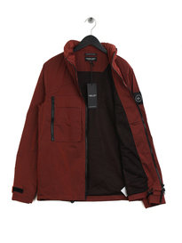 Marshall Artist Liquid Overshirt Burnt Orange