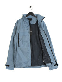 Marshall Artist Liquid Overshirt Jacket Sky Blue