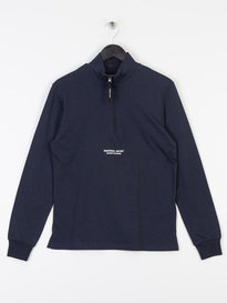 Marshall Artist Siren Funnel Neck Top Navy