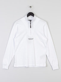Marshall Artist Siren Funnel Neck Top White