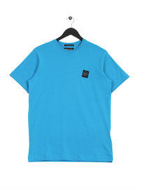 Marshall Artist Siren Graphic Short Sleeve T-shirt Blue