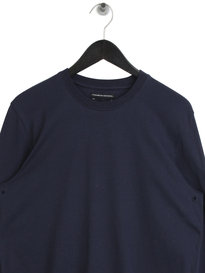 Marshall Artist Siren Long Sleeve Crew Neck T-Shirt Navy